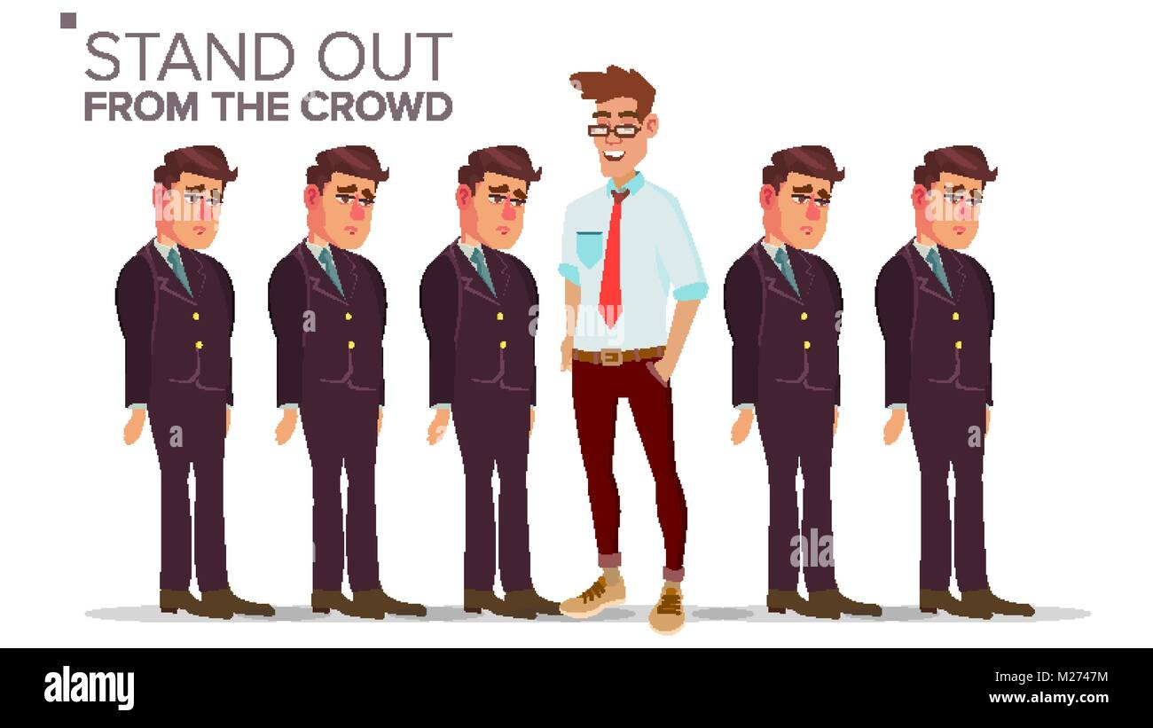 how to stand out from the crowd in business