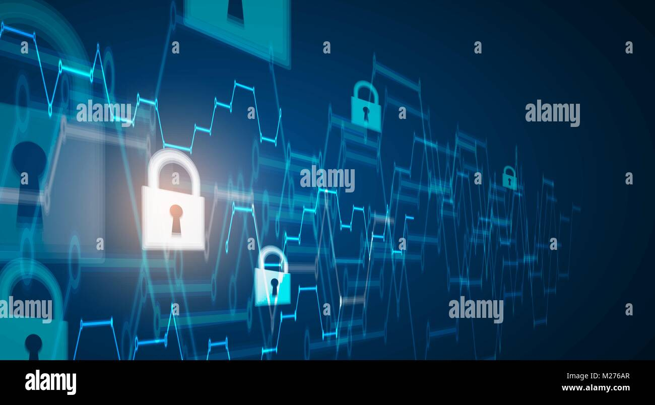 cybersecurity and information or network protection future cyber