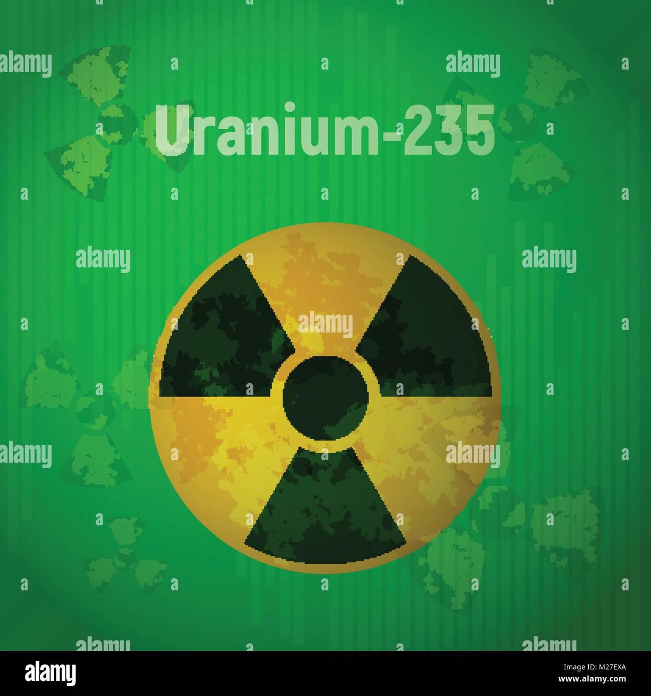 Symbol chemical element uranium stock photos symbol chemical uranium 235 stock image buycottarizona Images