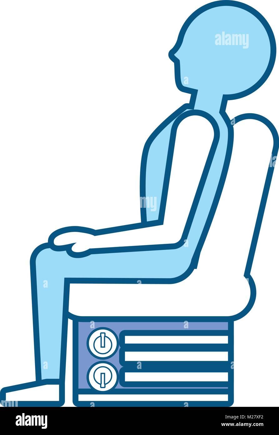 Car Seat Vector Illustration
