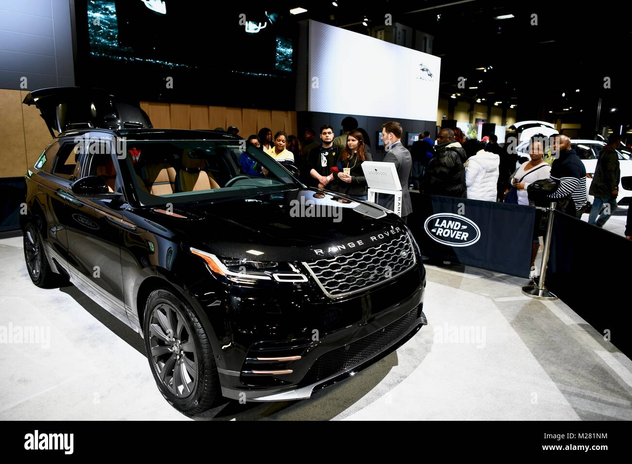 Range Rover Tour At The Washington Auto Show Washington DC - Washington dc car show discount tickets