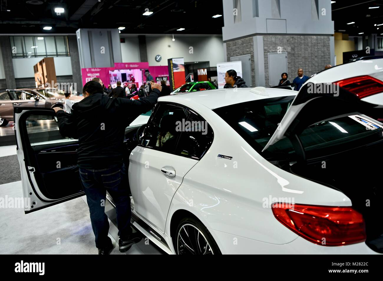 Lexus Car Displayed At The Washington Auto Show Washington DC - Washington car show discount tickets