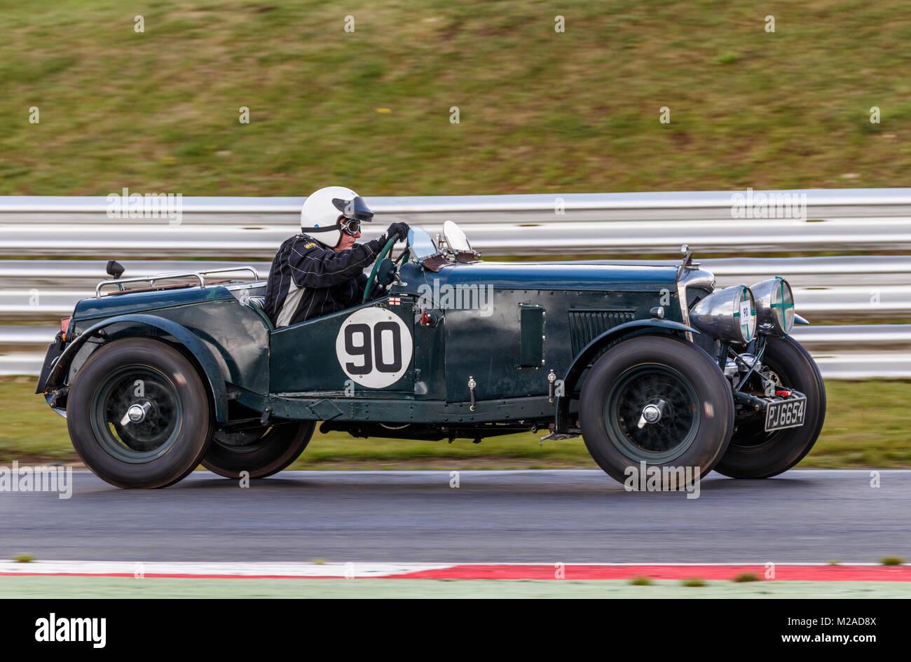 Vintage Riley Vintage Car Racing Stock Photos & Vintage Riley ...