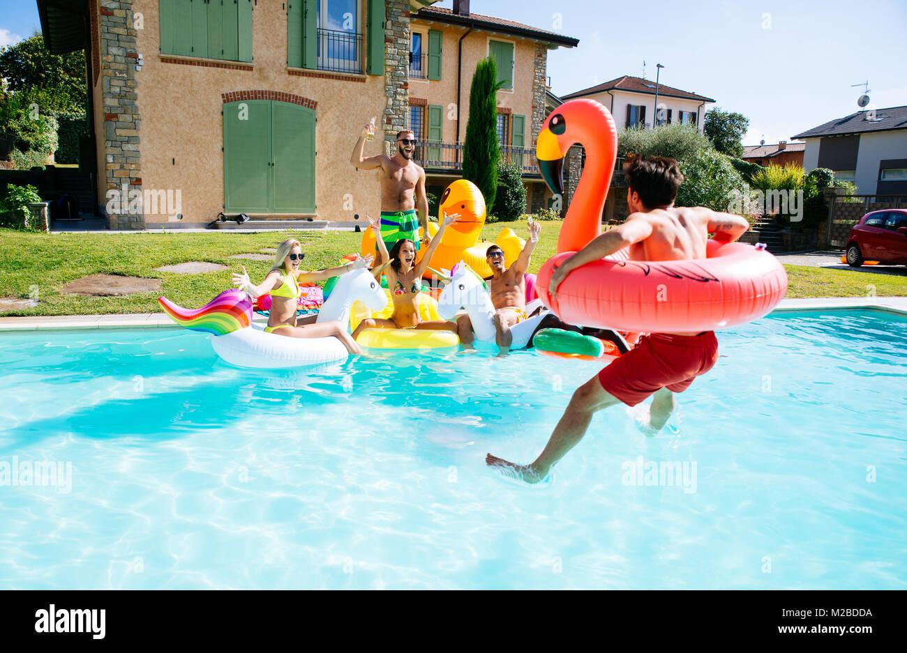 Legs Floating In Pool Water Stock Photos Legs Floating In Pool Water Stock Images Alamy