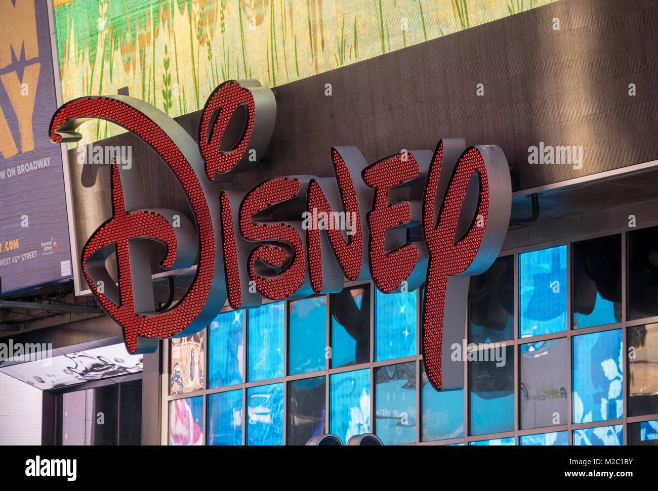 Disney products store stock photos disney products store stock the disney store in times square in new york on monday february 5 2018 biocorpaavc Choice Image