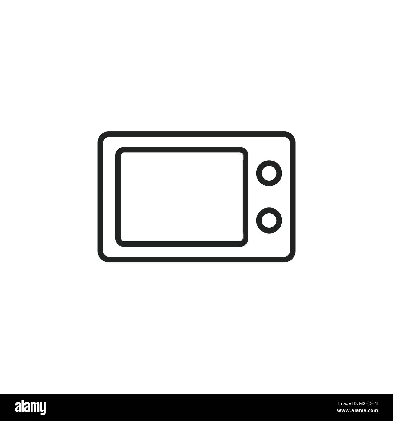 Oven black and white stock photos images alamy microwave oven symbol logo illustration stock image biocorpaavc