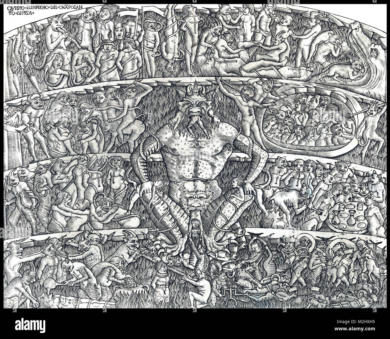 hell in dante alighieris the divine comedy How do believing catholics feel about dante's divine  is dante's divine comedy illegal in some muslim countries as it  if there is such a thing as hell,.
