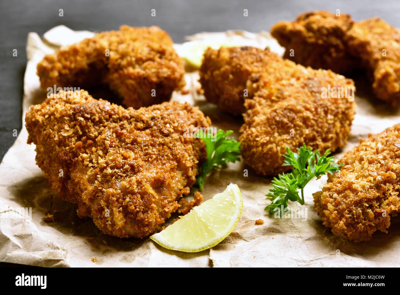 how to make deep fried breaded chicken wings
