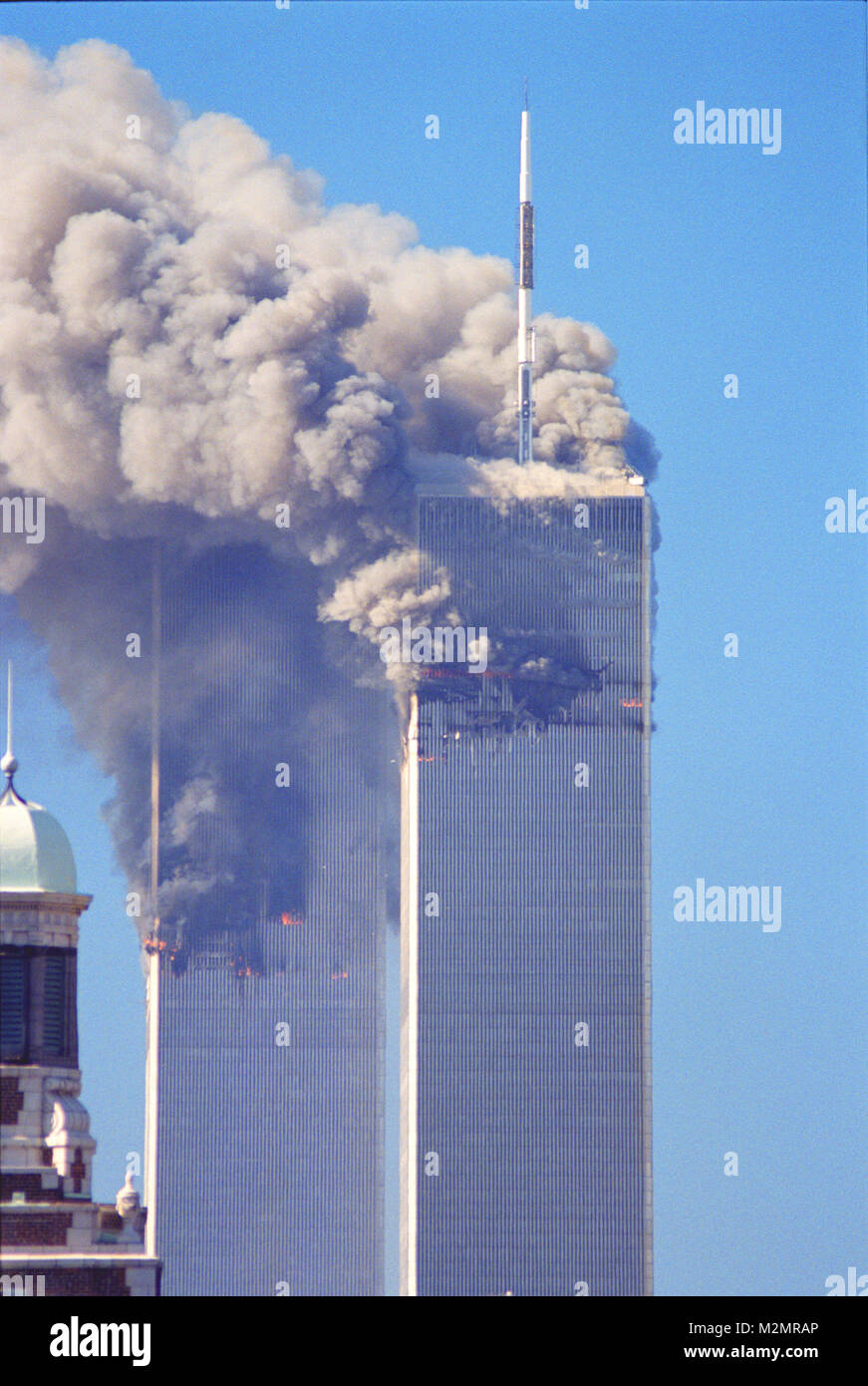 attacks on world trade center analysis Vulnerabilities in the design of new york's world trade center (wtc)  of the  wtc and surrounding buildings in the aftermath of the terrorist attacks   according to hamburger's preliminary analysis, the impact of the jetliners.