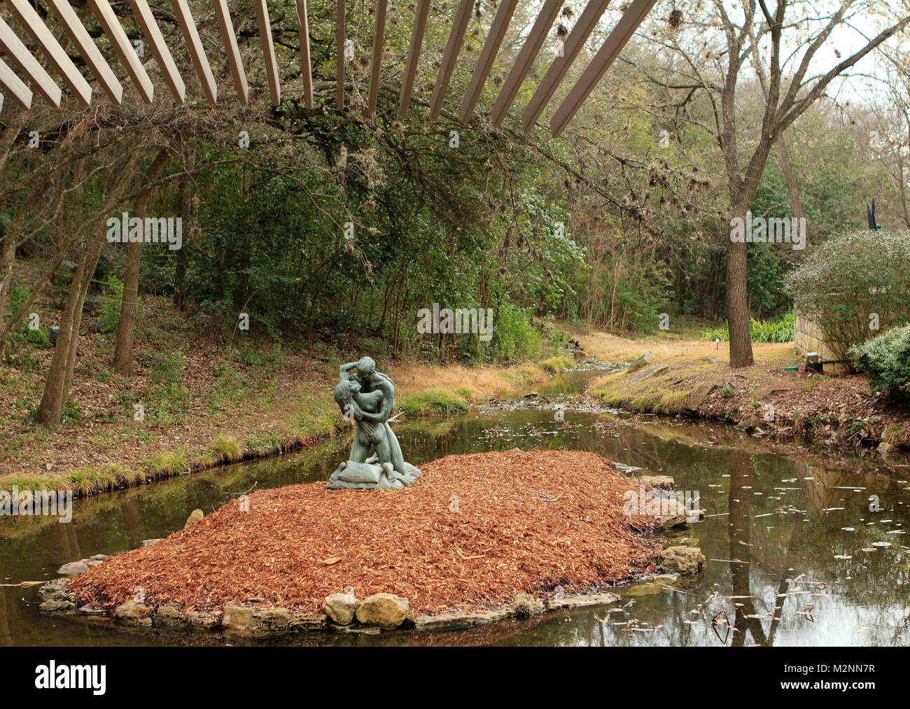 Austin, Texas - February 19, 2011: Umlauf Sculpture Garden and ...