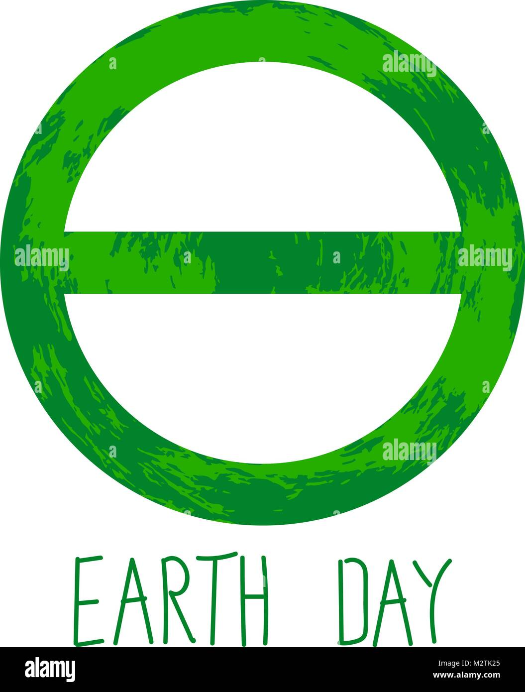 Symbol of earth day is the greek letter of theta stock vector art symbol of earth day is the greek letter of theta biocorpaavc Image collections