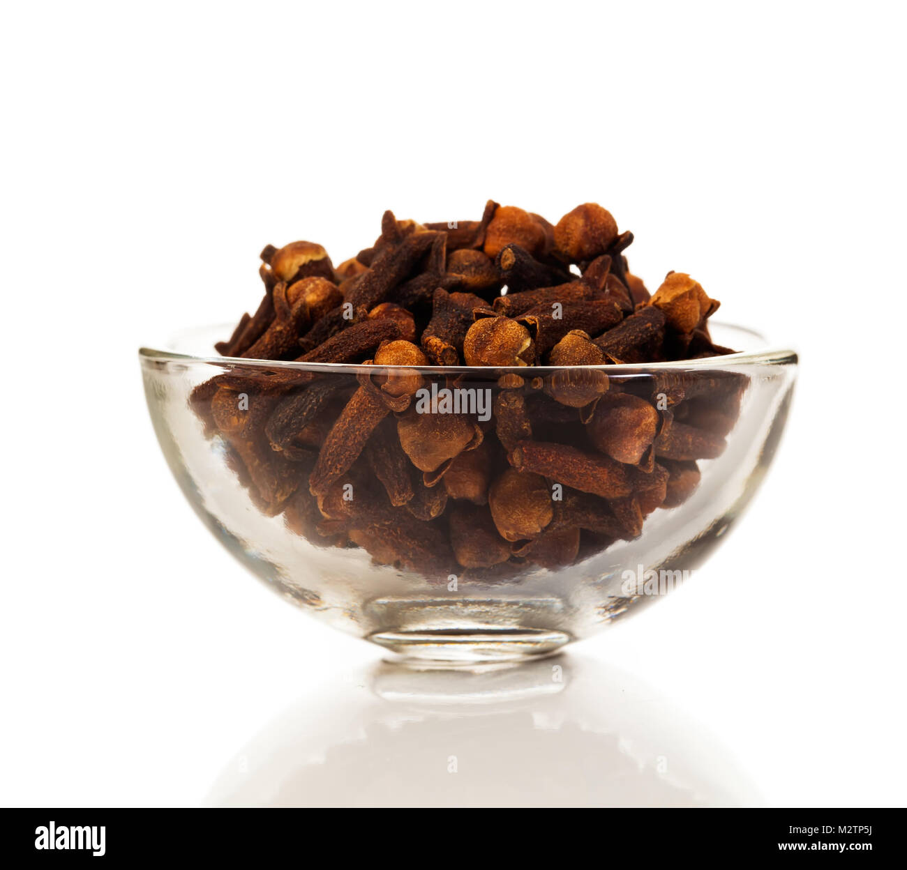 Cloves Spice On A White Background Cloves Aromatic Flower Buds Of