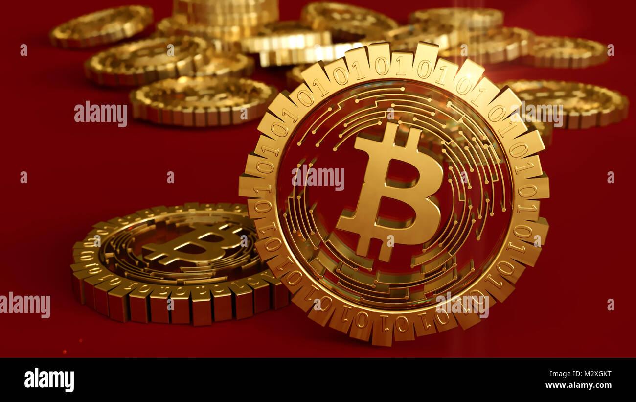 Stock On Bitcoin Miner 3d Model – Micro Automação – Handling