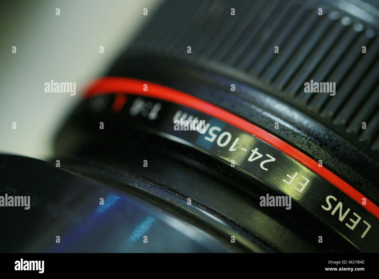Dslr Camera Lens On A Dark Background Stock Photo 173934446 Alamy