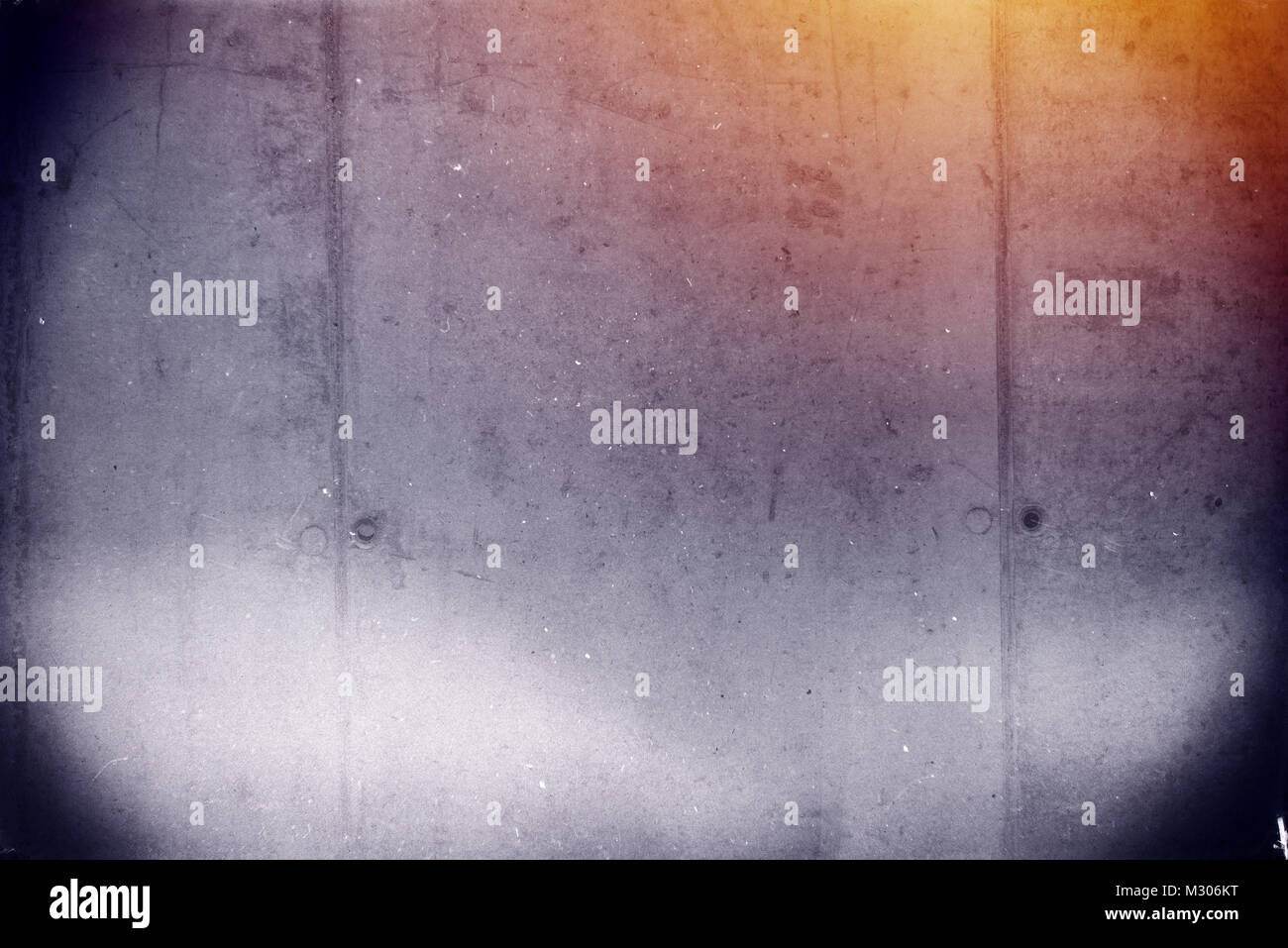 Grunge Camera Effect : Abstract grunge scratched texture with grain and light leak effect