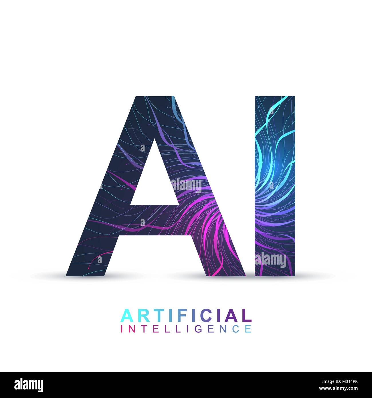 Machine Learning Artificial Intelligence Concept Stock