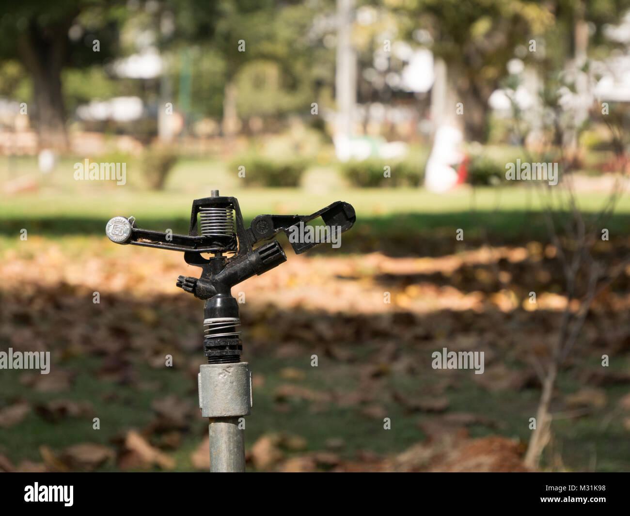 Garden Sprinkler in India Stock Photo: 173984756 - Alamy