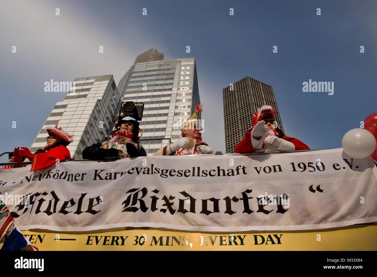 Karneval in Berlin mit kleinliche Auflagen für großes Fest was keine ...