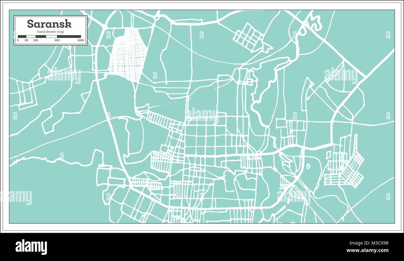 Saransk Stock Photos Saransk Stock Images Alamy - Saransk map