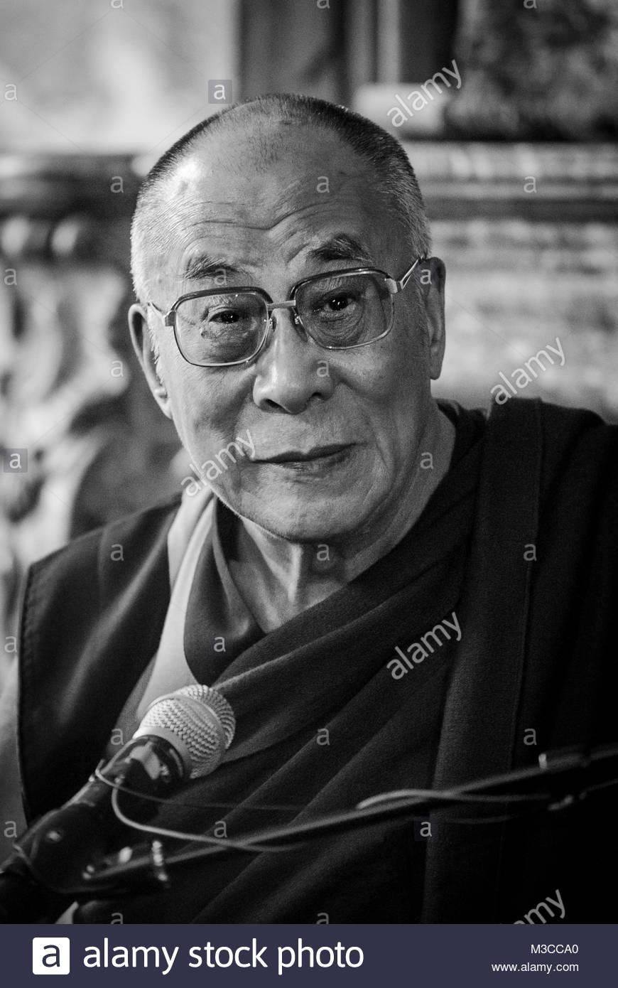 Tibetan Buddhism Black And White Stock Photos & Tibetan ...