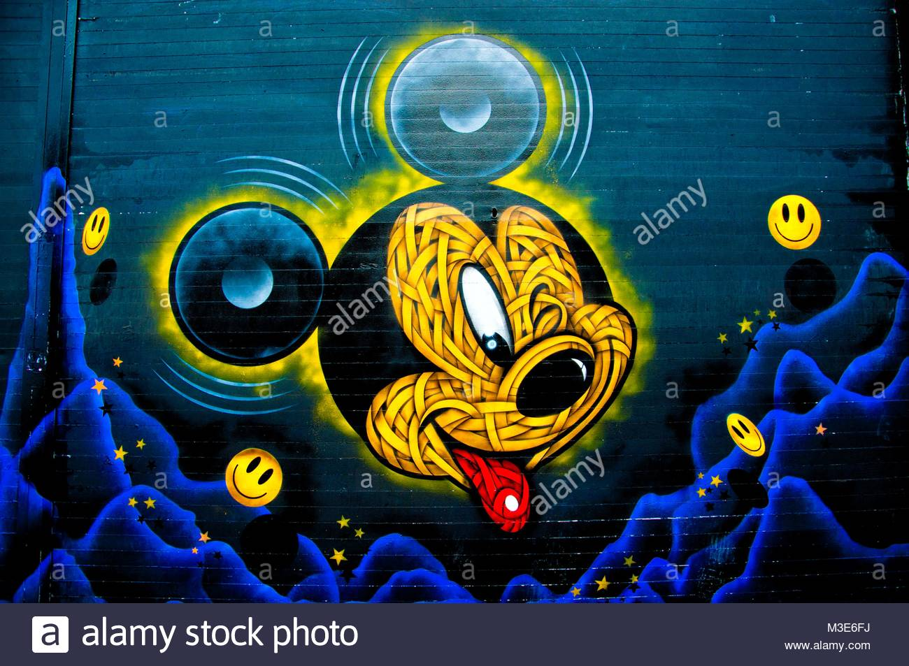 Mickey mouse art stock photos mickey mouse art stock images alamy mickey winking stock image biocorpaavc