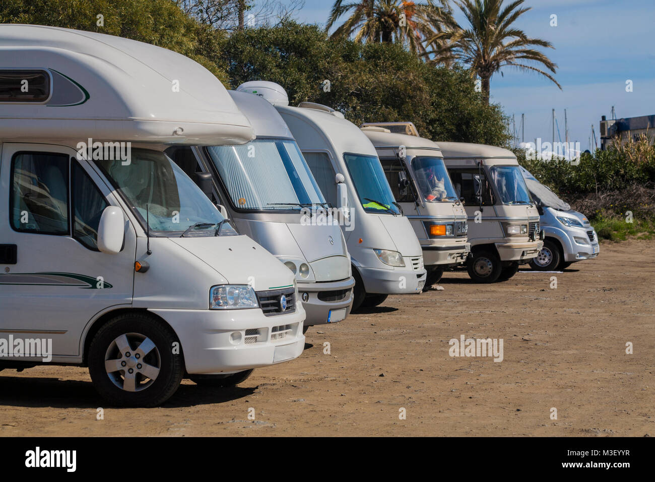 Spain caravan stock photos spain caravan stock images for Camel motors on park and ajo