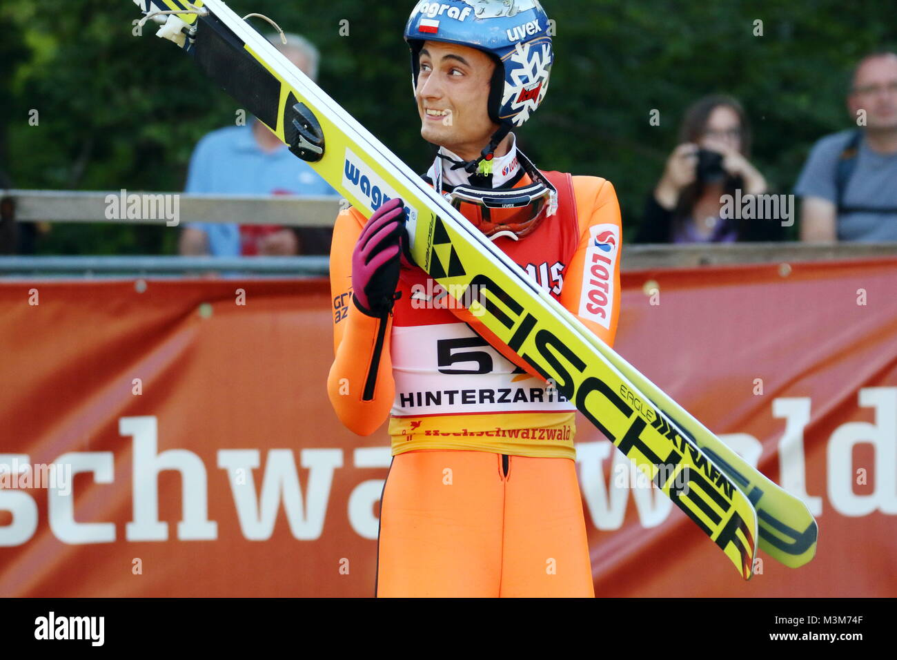 Maciej Kot Polen Pol Bei Der Qualifikation Fis Sommer Grand Prix