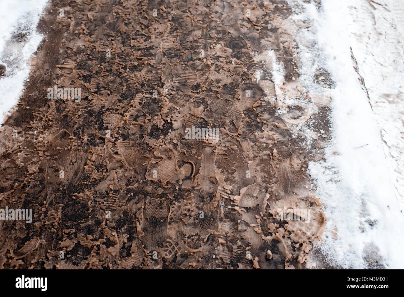 shoe print mud stock photos amp shoe print mud stock images