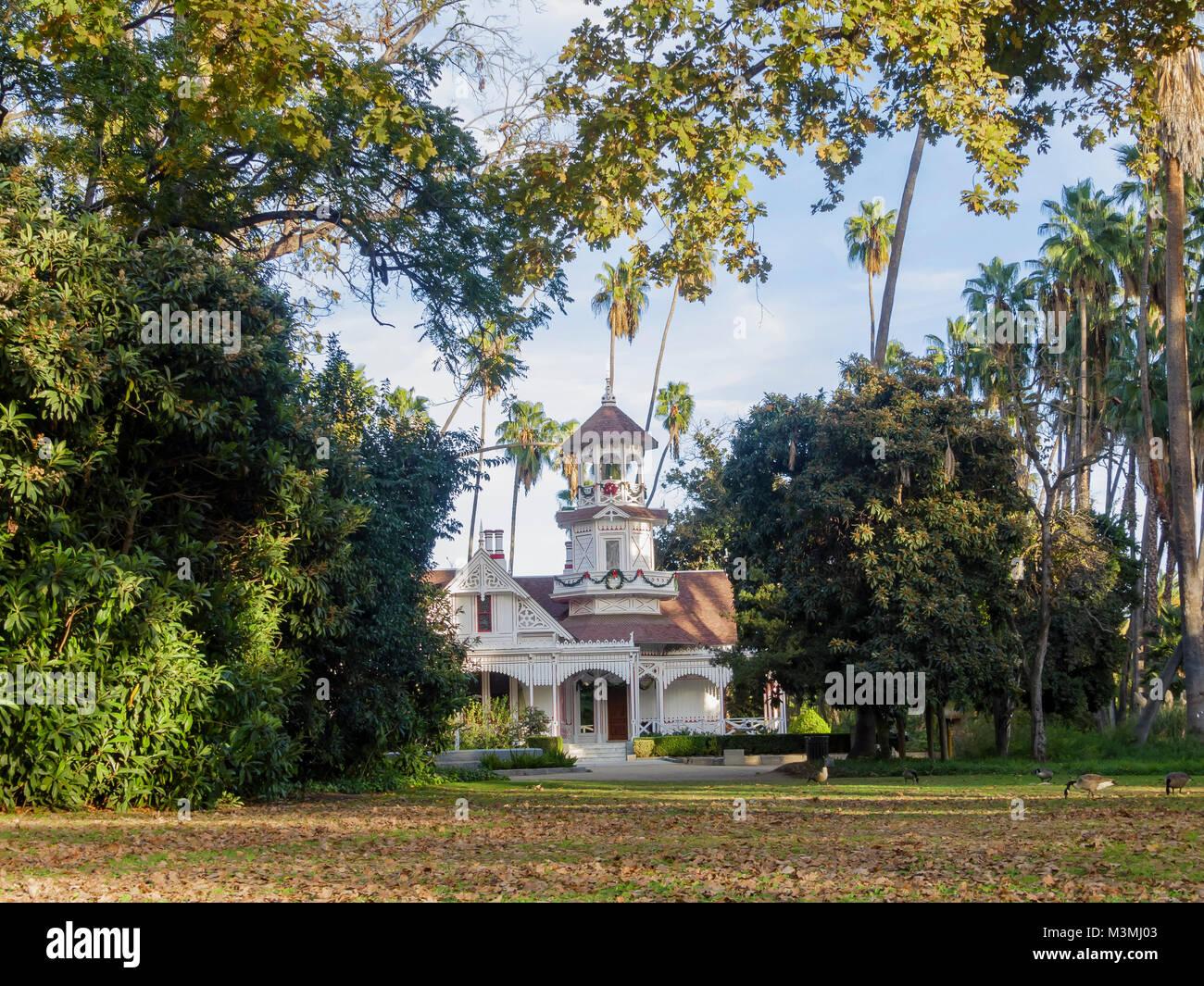 The Beautiful Queen Anne Cottage At Los Angeles County Arboretum U0026 Botanicu2026