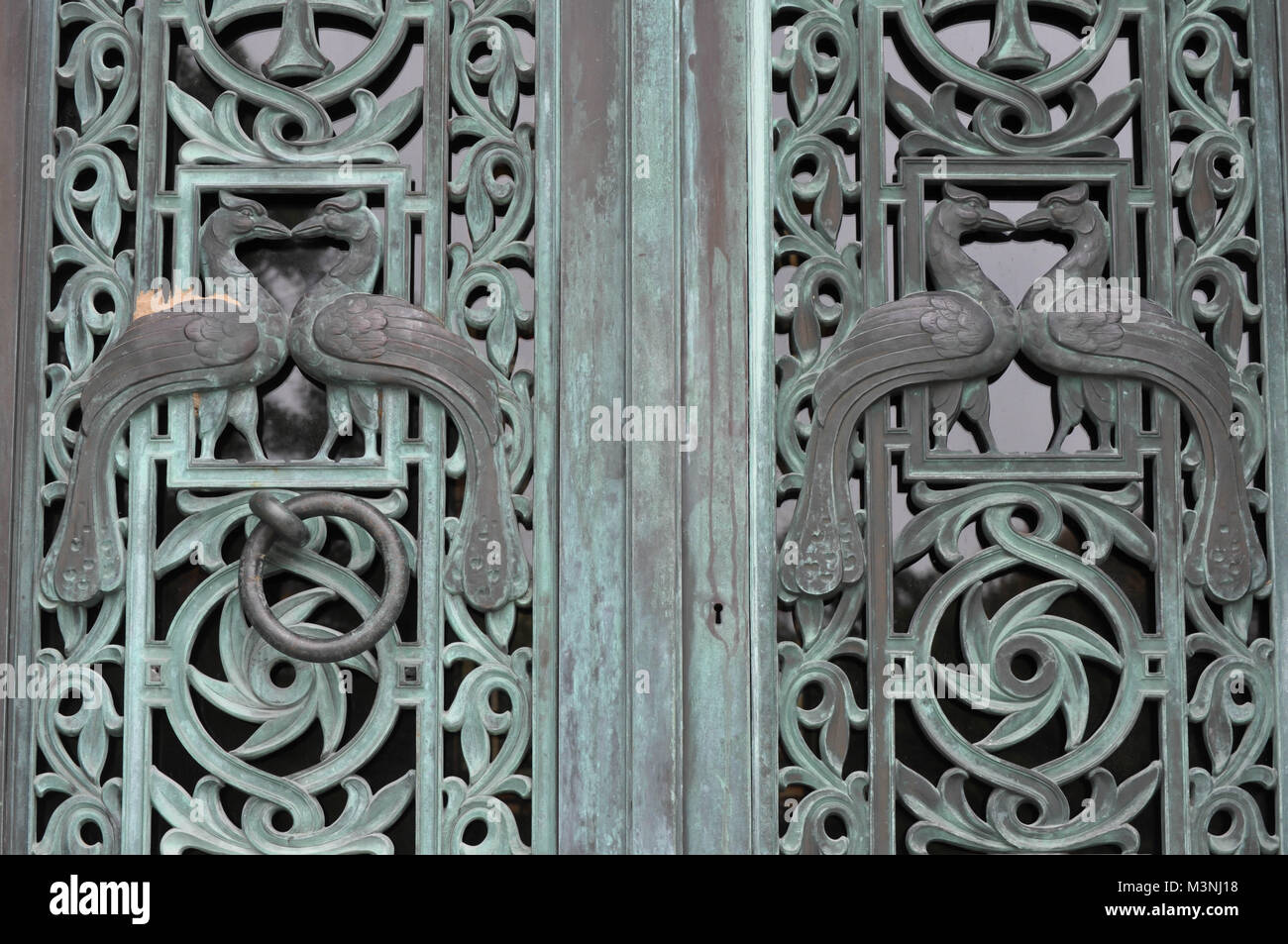 Abandoned Mausoleum Doors in a Cemetery & Abandoned Mausoleum Doors in a Cemetery Stock Photo Royalty Free ...