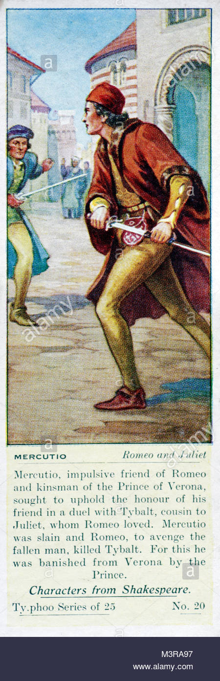 shakespeares presentation of romeo in act In william shakespeare's romeo and juliet , a long  in act i, scene ii, as lord  romeo claims it is his fortune to read — indeed,.