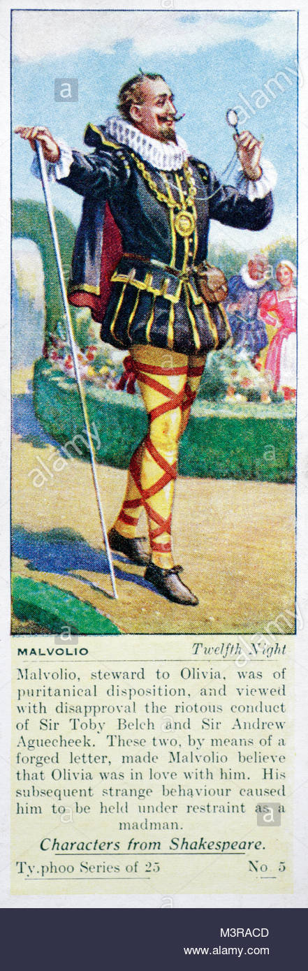 an analysis of the character malvolio in the play by william shakespeare A complete database of shakespeare's monologues the monologues are organized by play,  malvolio ii v 1.