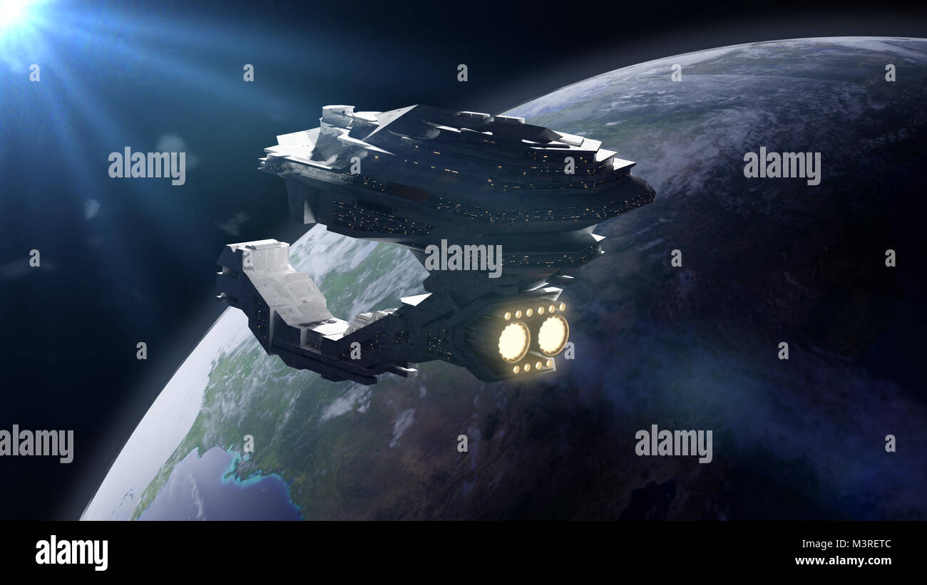 Star wars spaceship stock photos star wars spaceship for Outer space 3d model