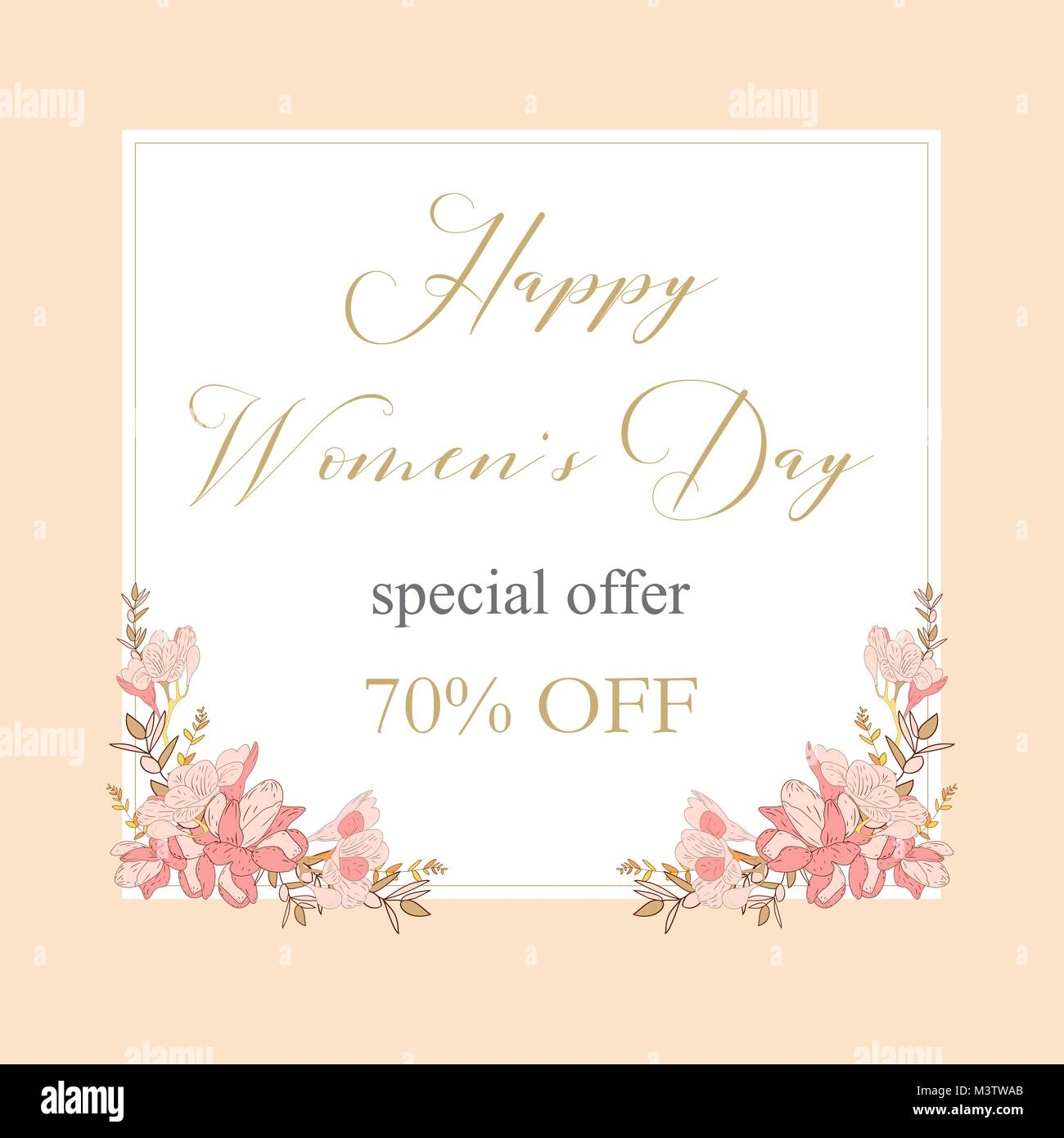 sale discount 8 march happy women s day poster eighth march gift card spring holiday sale futuristic promotion design advertising marketing greeting - Discount Greeting Cards