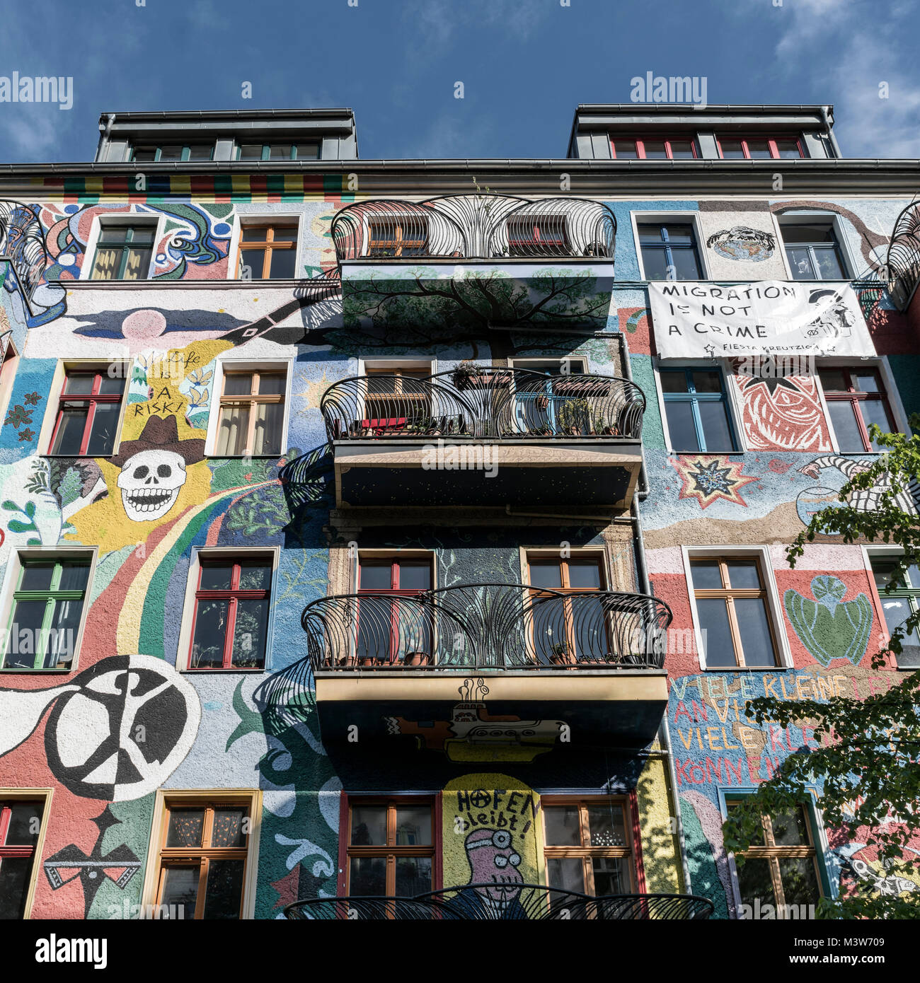 Wandmalerei stock photos wandmalerei stock images alamy - Wandmalerei berlin ...