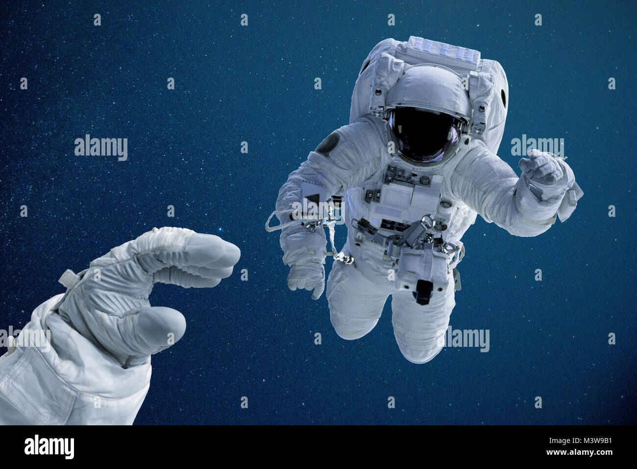 astronaut reaching space - photo #3