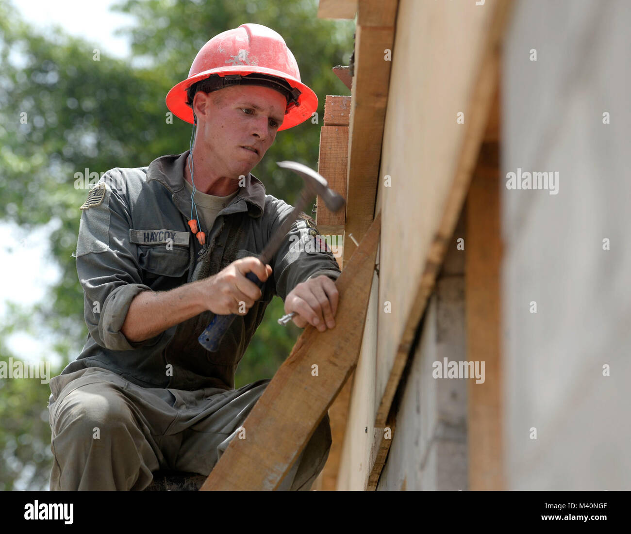 Roof Construction Training Stock Photos Amp Roof