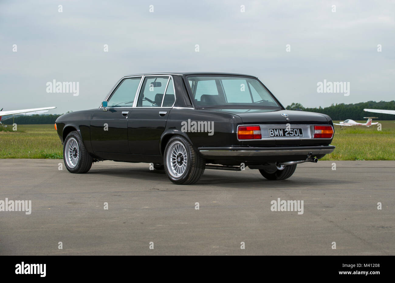 Bmw 3 0 Cs E3 New Six Classic German Sports Coupe Stock Photo