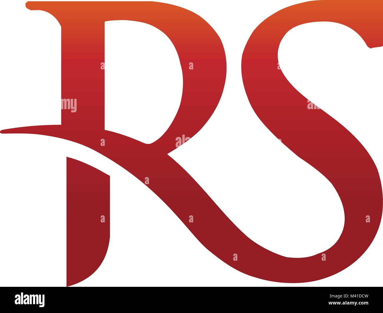 Rs symbol stock photos rs symbol stock images alamy elegant concept logo elements letter rs vector image stock image buycottarizona Image collections