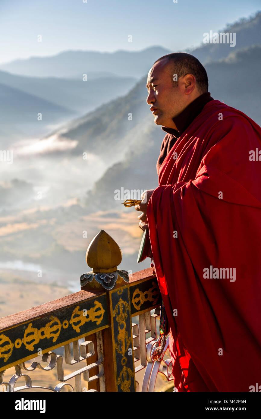 Buddhist single men in center valley