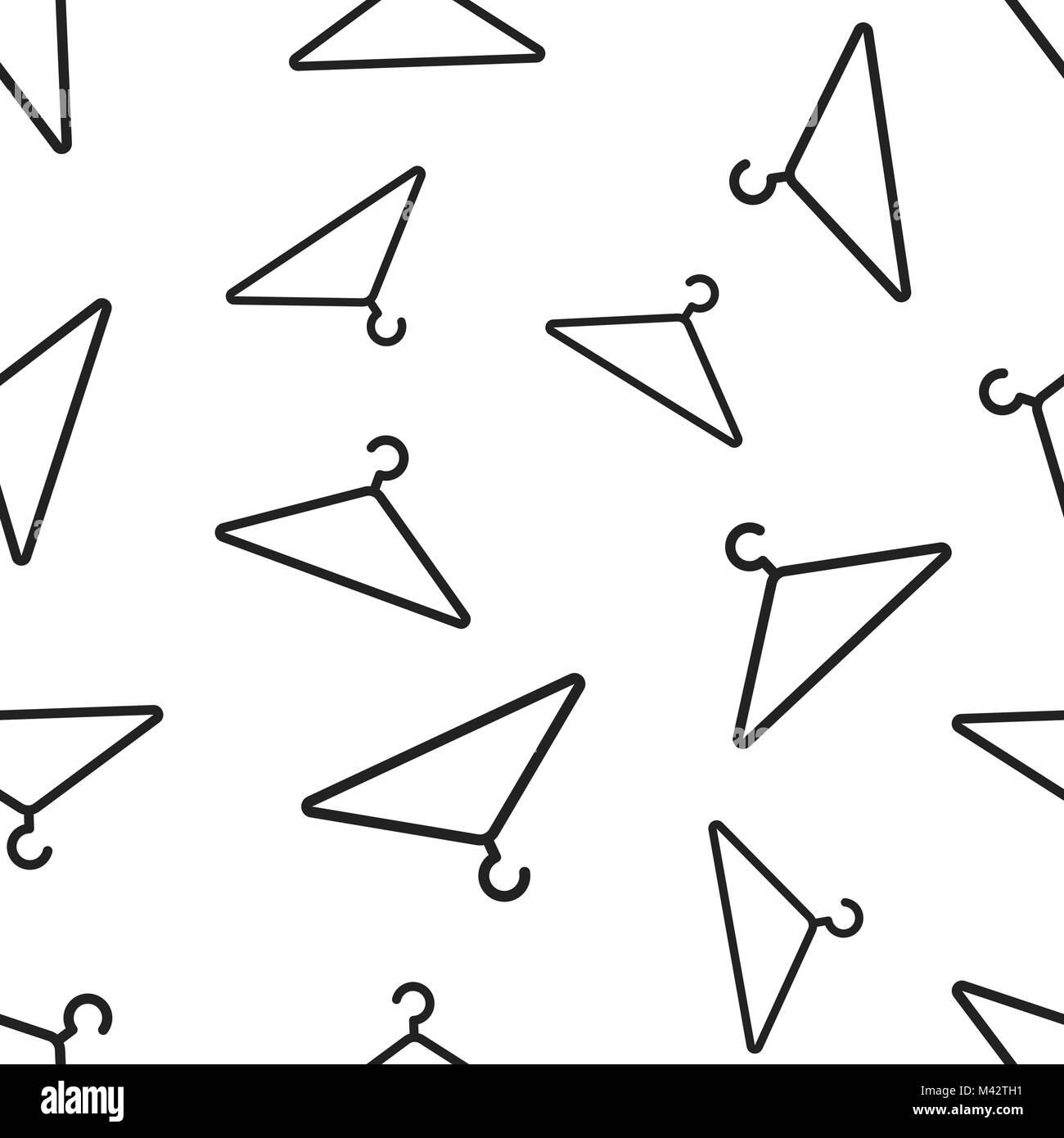Clothes hanger seamless pattern background business flat vector clothes hanger seamless pattern background business flat vector illustration wardrobe hander sign symbol pattern biocorpaavc