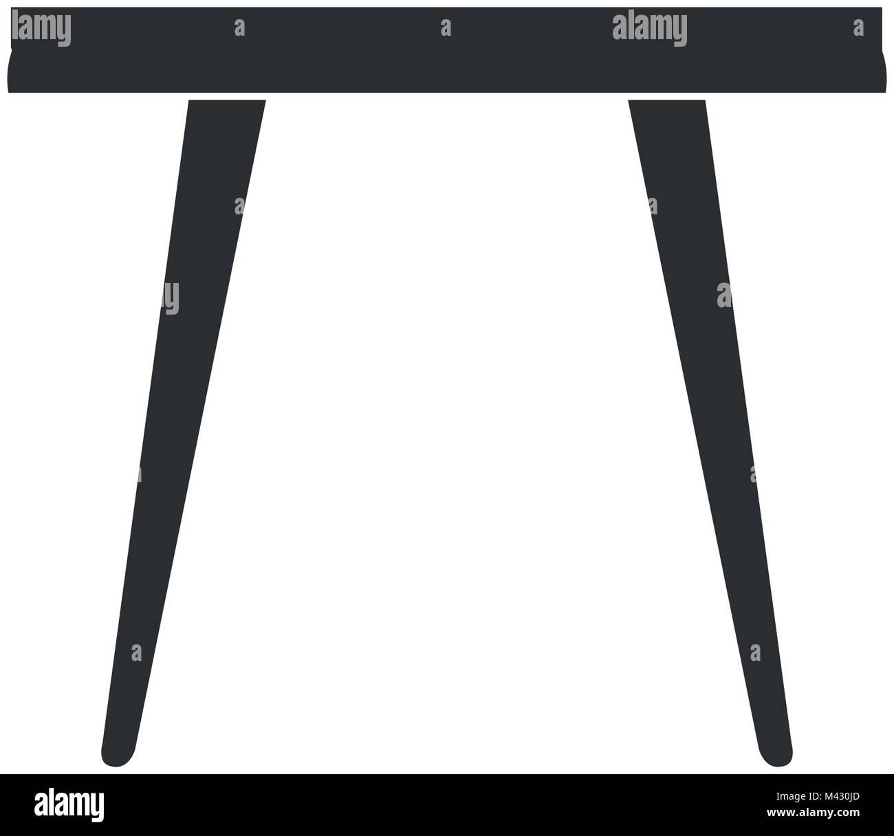 living room center table Stock Vector Art & Illustration, Vector ...