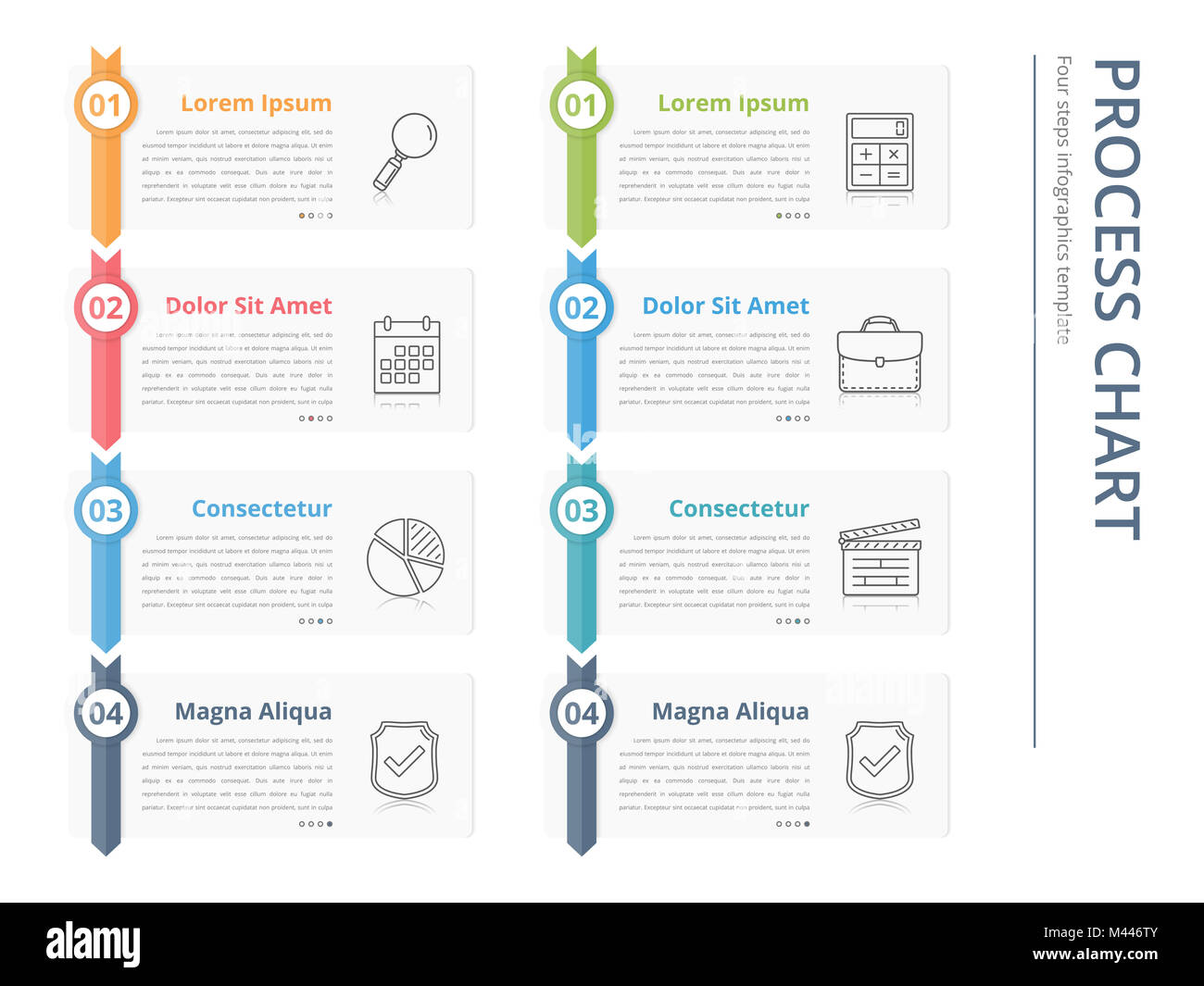 Vertical process chart flow chart template infographics design vertical process chart flow chart template infographics design elements with numbers and text business infographics workflow steps options vec accmission Choice Image