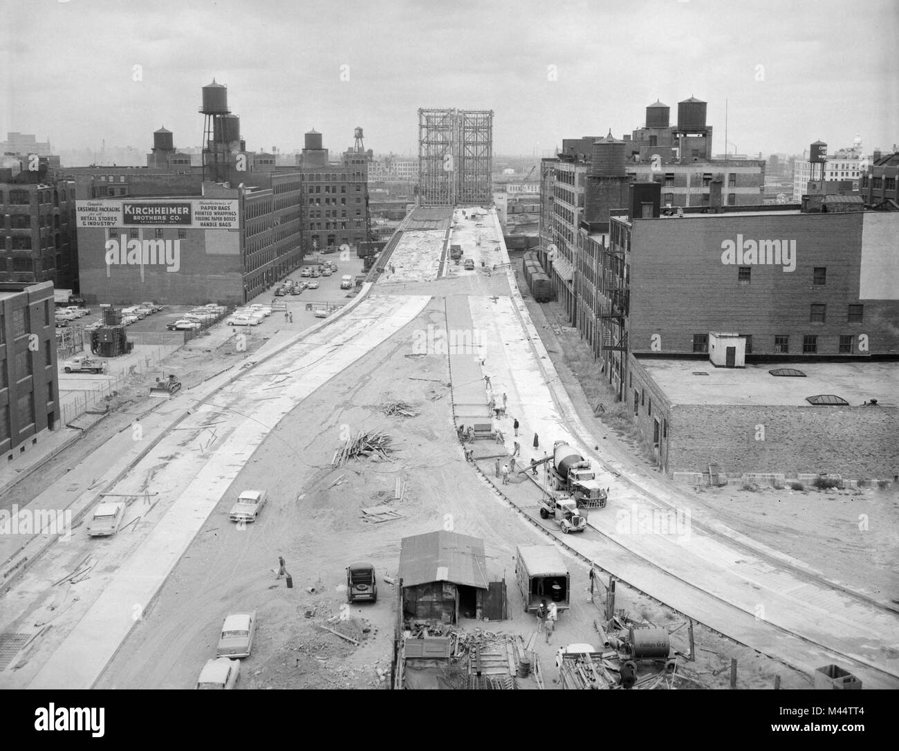 Kennedy expressway stock photos kennedy expressway stock for Nw construction