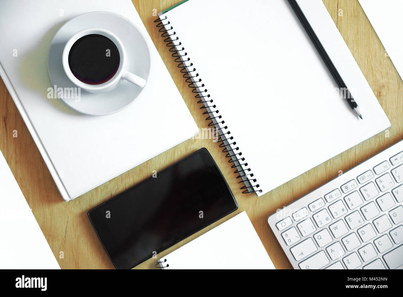 neat office supplies. Workplace Desk With Clean, Tidy And Neat Office Supplies. Mockup Empty Copy Space For Editor\u0027s Text Supplies R