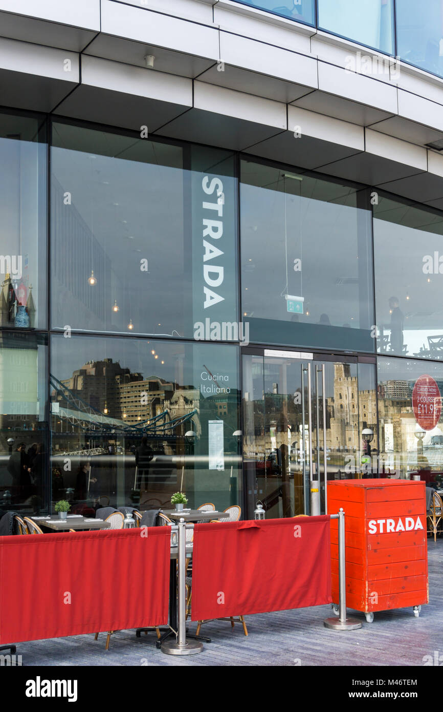 Strada Italian Restaurant London