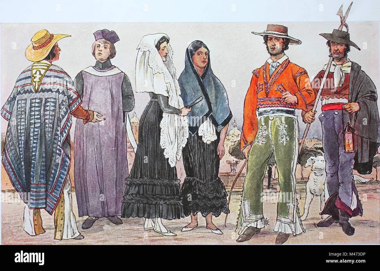 194b490a4a9a Clothing fashion in central america mexico early century jpg 1300x928 Vintage  mexican fashion