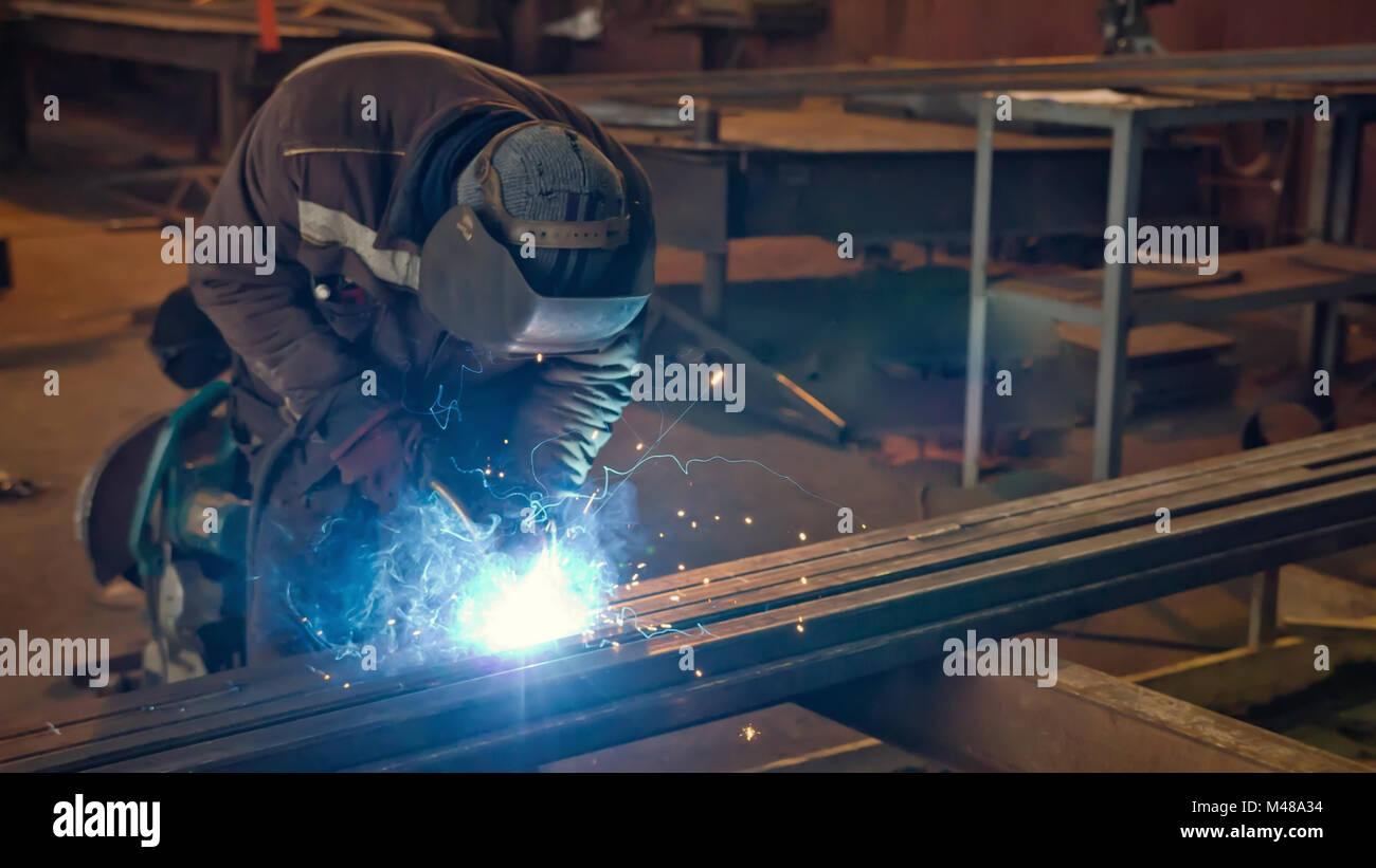 Welding semi-automatic for beginners. Semi-automatic welding 2