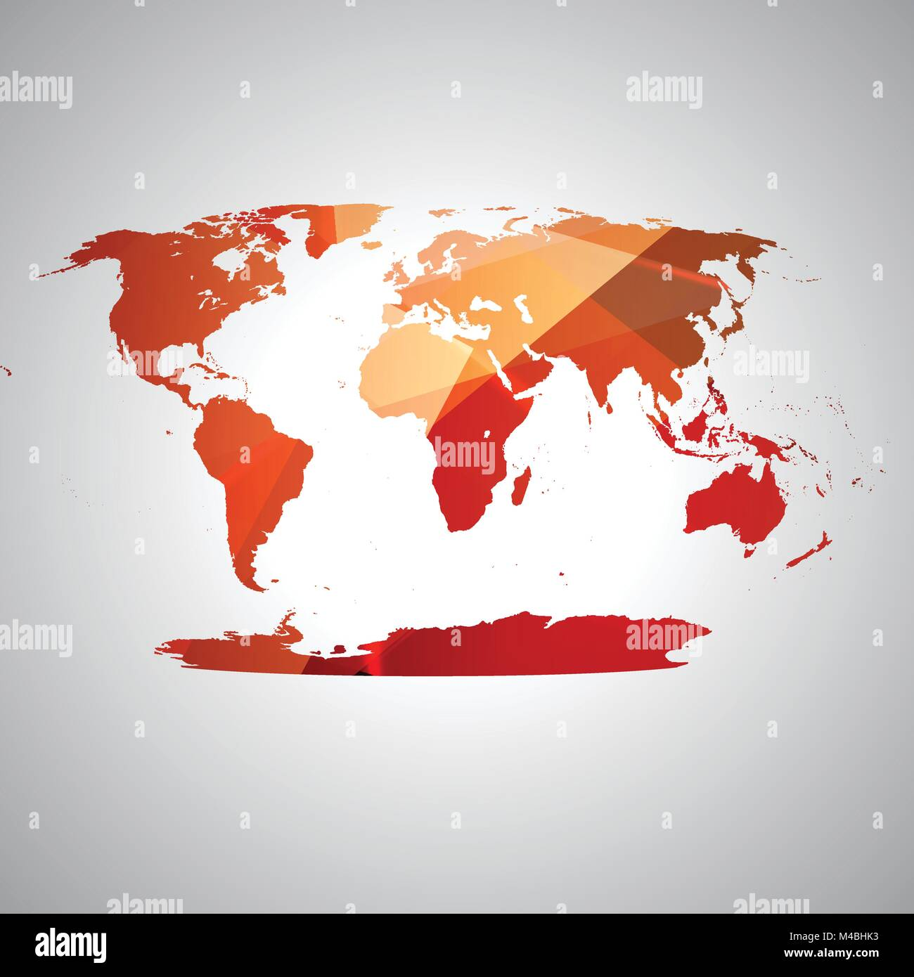 Colorful World Map Art.Colorful World Map Vector Stock Vector Art Illustration Vector