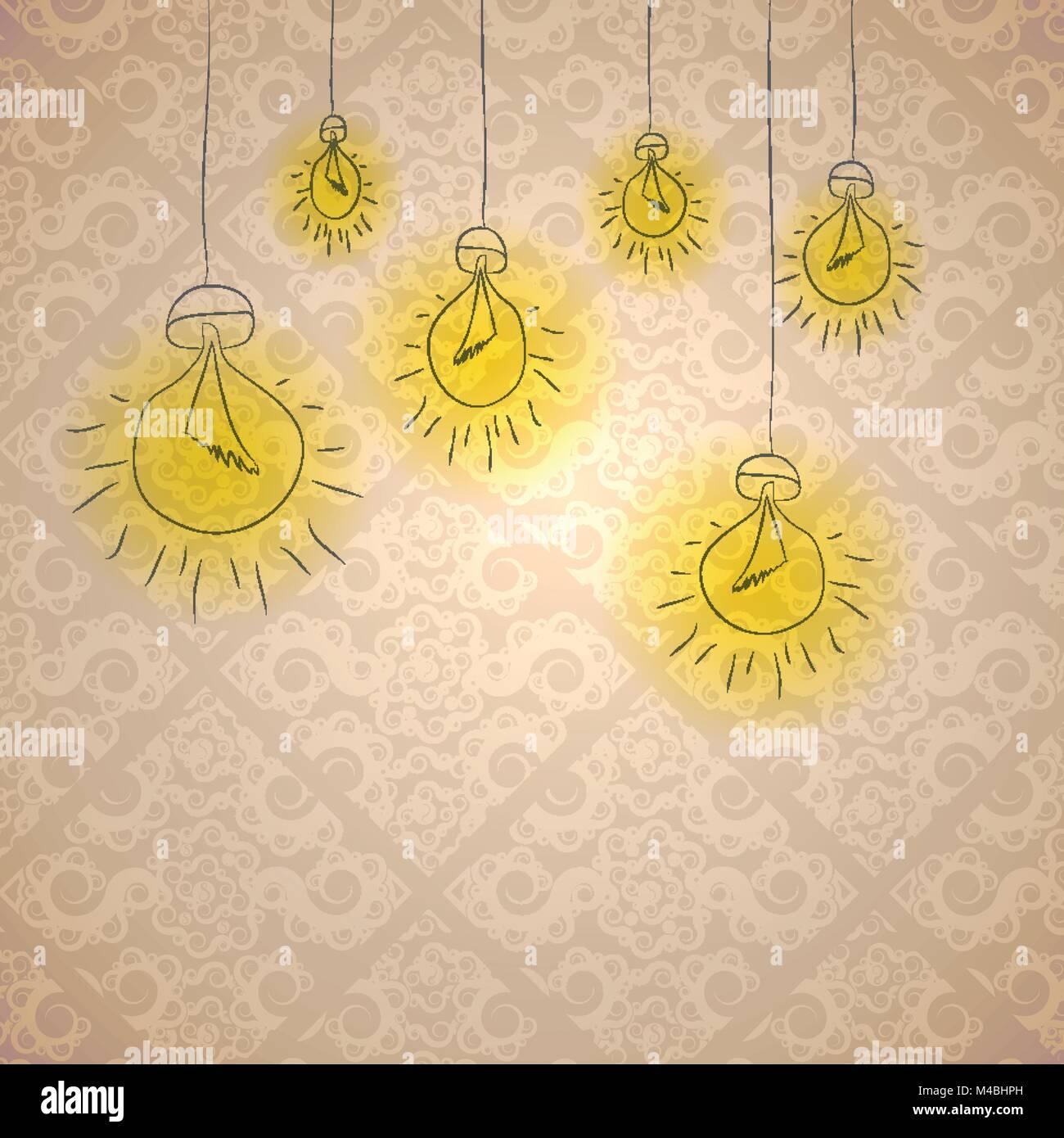 Creative Greeting Card Design Vector Stock Vector Art